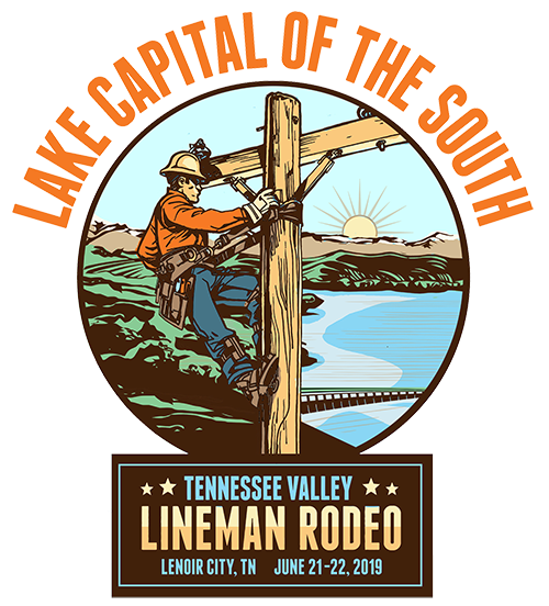 Lake Capitol of the South Rodeo 2019 Logo