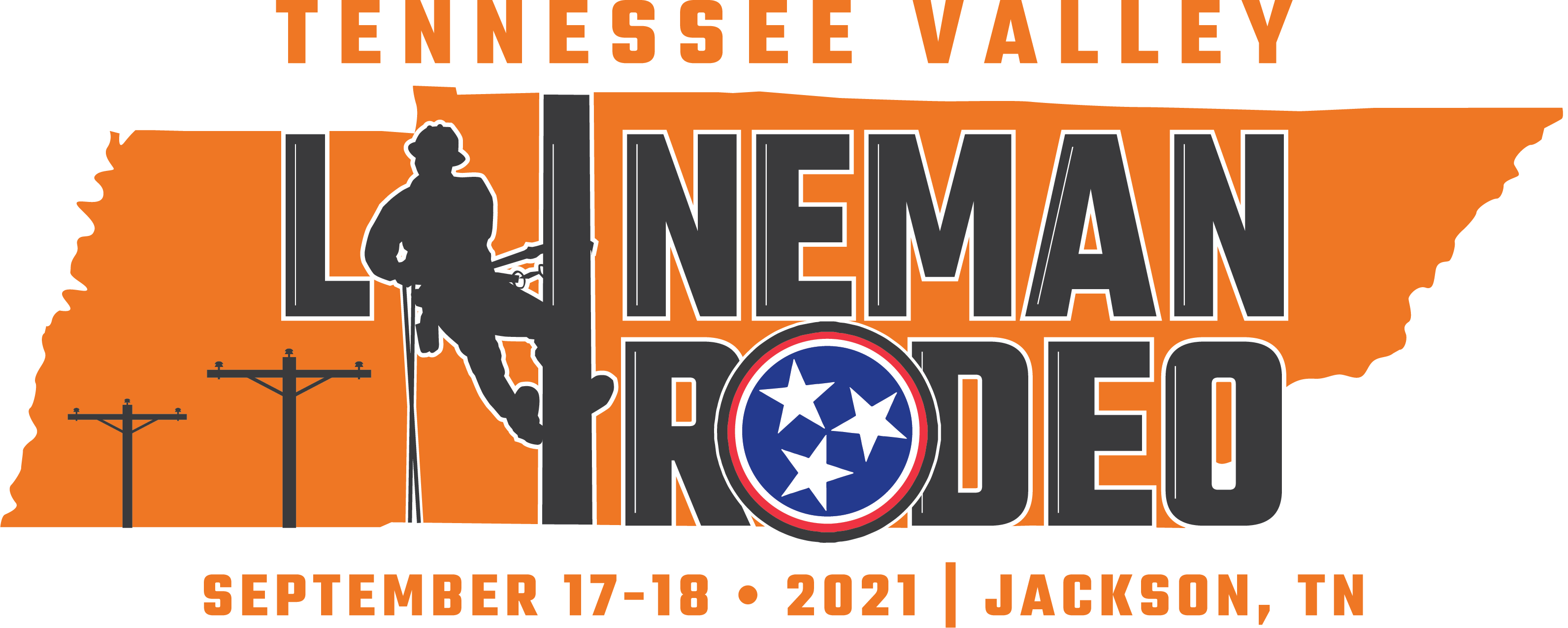 Tennessee Valley Lineman Rodeo 2021 Logo